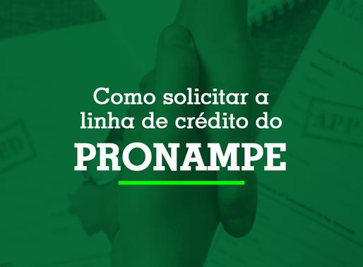 Como solicitar a linha de crédito do Pronampe