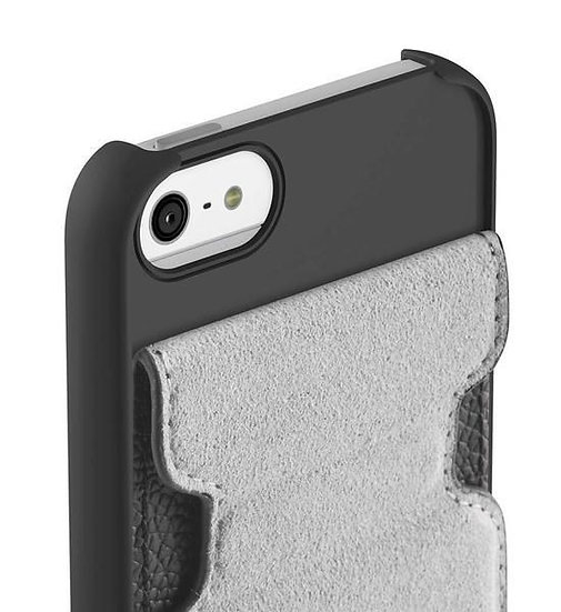 Belkin Snap Folio Cover Pouch For Iphone 5 In White/Gravel