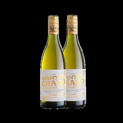 שני בקבוקים של דה וונטד - שרדונה