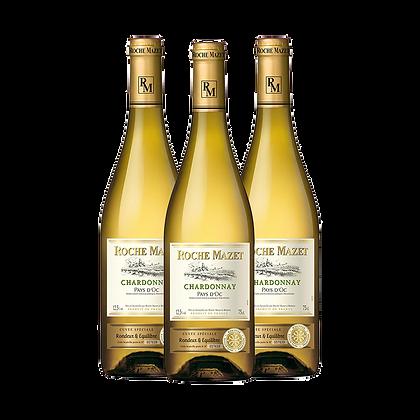 Chardonnay Roche Mazet- שלשיית שרדונה רוש מאזה