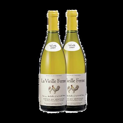שני בקבוקים של פרין לה וילה פרם - לבן