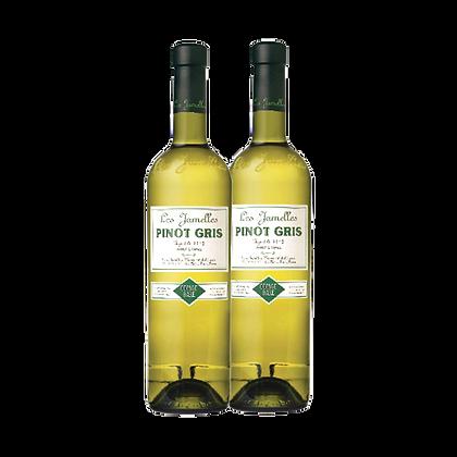 שני בקבוקי לה ז'אמל - פינו גריג'יו