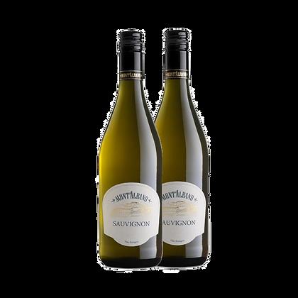 שני בקבוקים של מונטאבלו - סובניון בלאן
