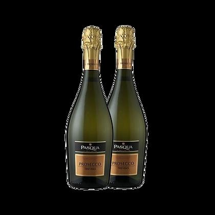שני בקבוקים של פסקוואה - פרוסקו