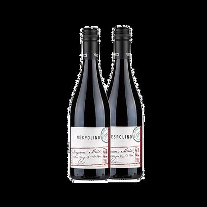 שני בקבוקים של נספולינו סנג'יובזה - מרלו