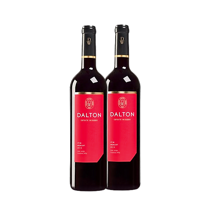 שני בקבוקים של דלתון אסטייט - מרלו