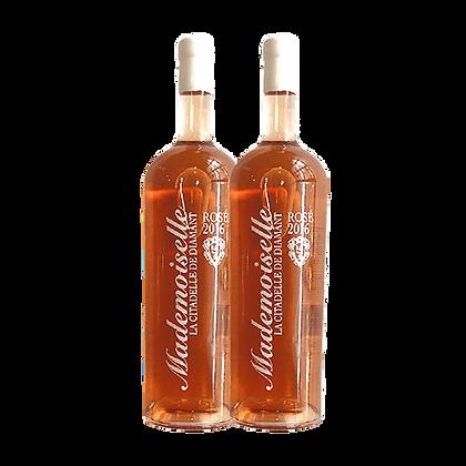 שני בקבוקים של רוזה מדמוזל (חבית2015)