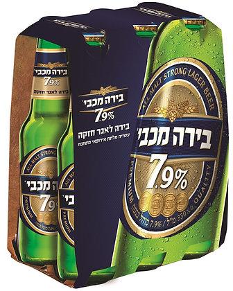 (בירה מכבי 7.9(6 יחידות