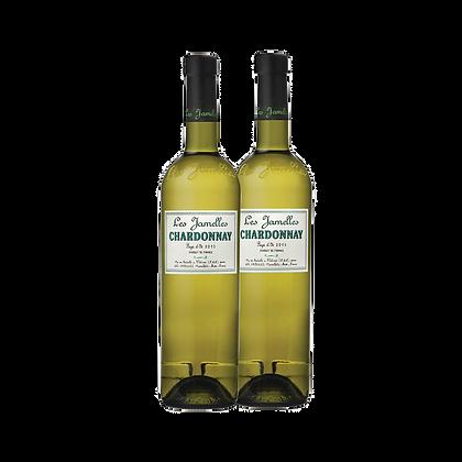 שני בקבוקים של לה ז'אמל - שרדונה