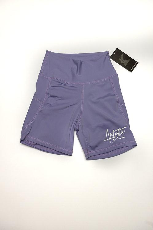 Women's High Waist Biker Shorts