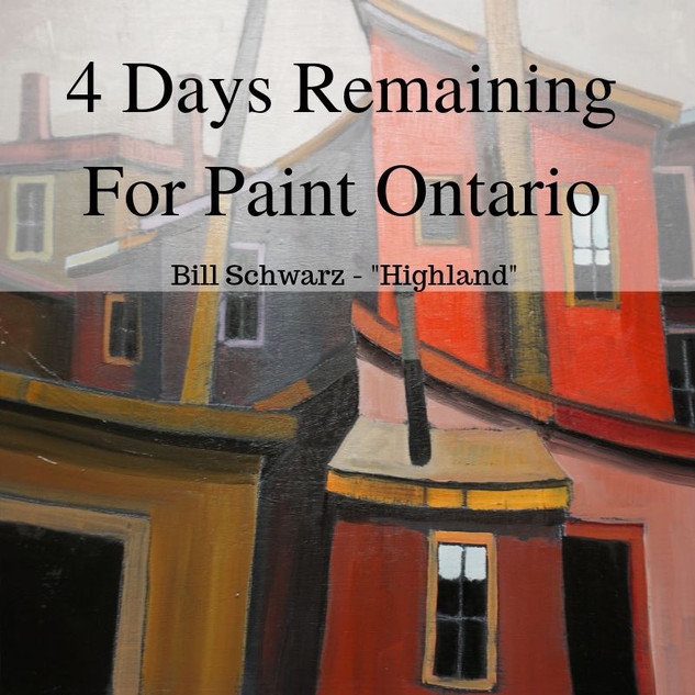 paint ontario 4 days