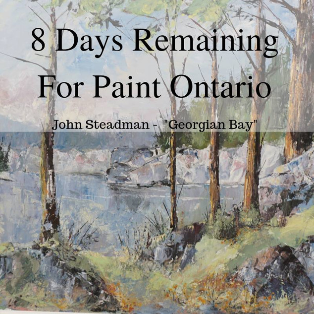 paint ontario 8 days