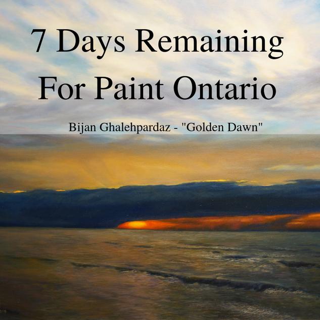 paint ontario 7 days