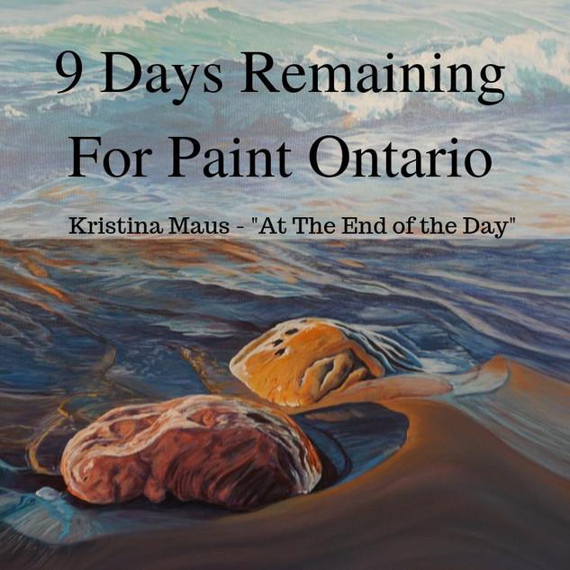 paint ontario 9 days