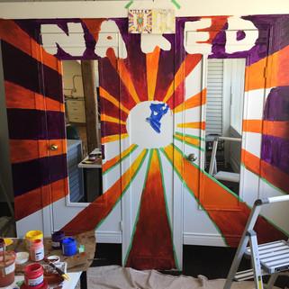 Reimagine Co. Naked Store Mural