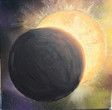"""Partial Eclipse"" - $40.00 CAD"