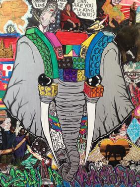 "Elephant Ambassador"" - $200.00 CAD"
