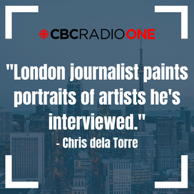 CBC Radio Interview On-Air and Online with Chris dela Torre