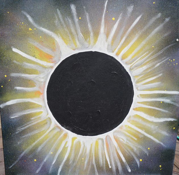 """""""Total Eclipse"""" - $100"""