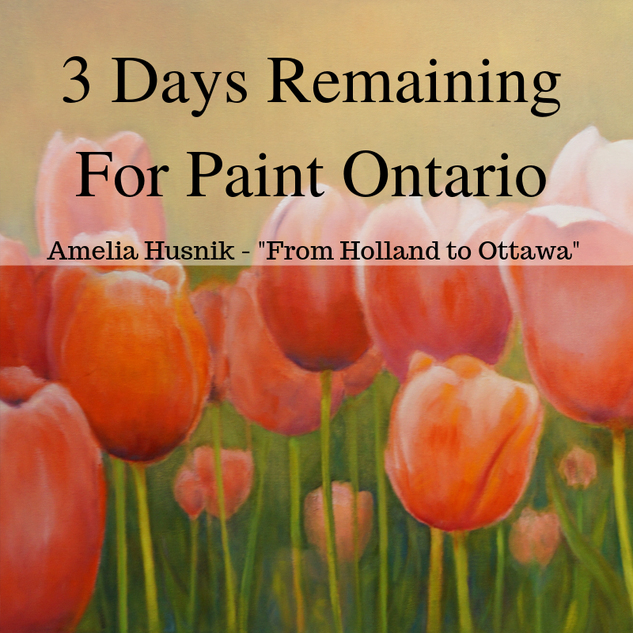 paint ontario 3 days