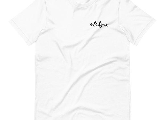 A Lady Is