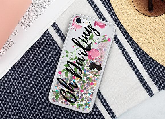 Oh Darling IPhone Glitter Case