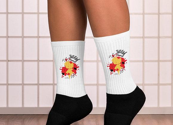 Crown Me Bxtch Socks