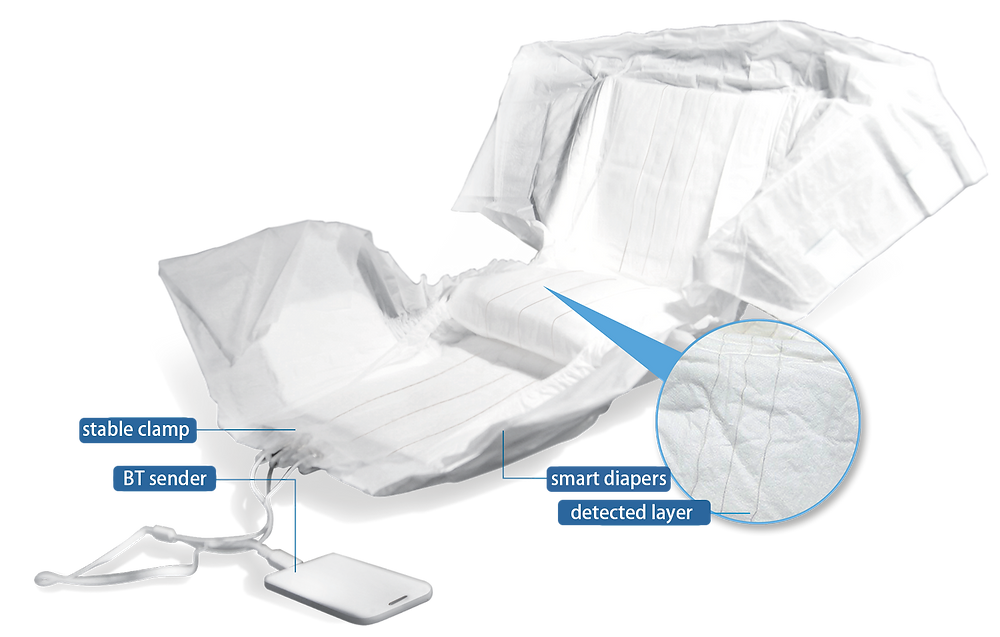 Smart Diaper is the best aid for caregiver