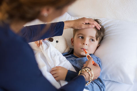 monitor the fever condition