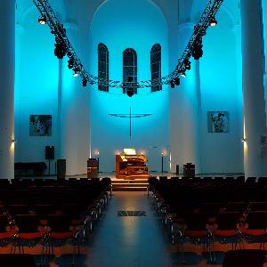 Kreuzeskirche Orgelstudio, © Andy von Oppenkowski