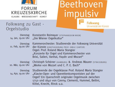 Livestream 02.02.2021: Orgelstudio DIGITAL - Beethoven impulsiv 4
