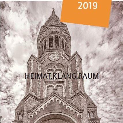 Titelblatt Halbjahresprogramm 2019.2 HEIMAT.KLANG.RAUM