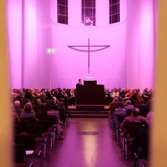 Orgelstudio Kreuzeskirche Essen 13.12.2016, © Forum Kreuzeskirche Essen, Foto: Marcel Korstian