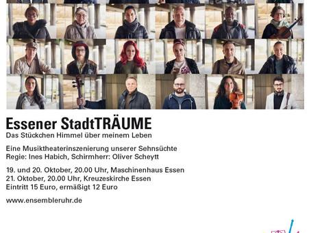 21.10.2019: Essener StadtTRÄUME