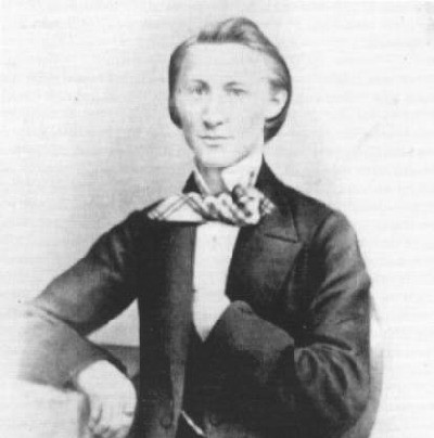 Julius Reubke 1834-1858; deutscher Pianist, Organist und Komponist; Wikipedia gemeinfrei