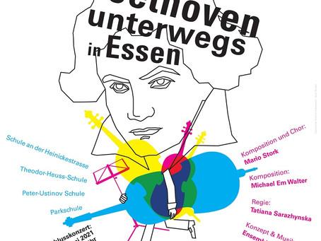 17.06.2021: Ensemble Ruhr & KIDZ  – Mit Beethoven unterwegs in Essen – Beethoven partizipativ