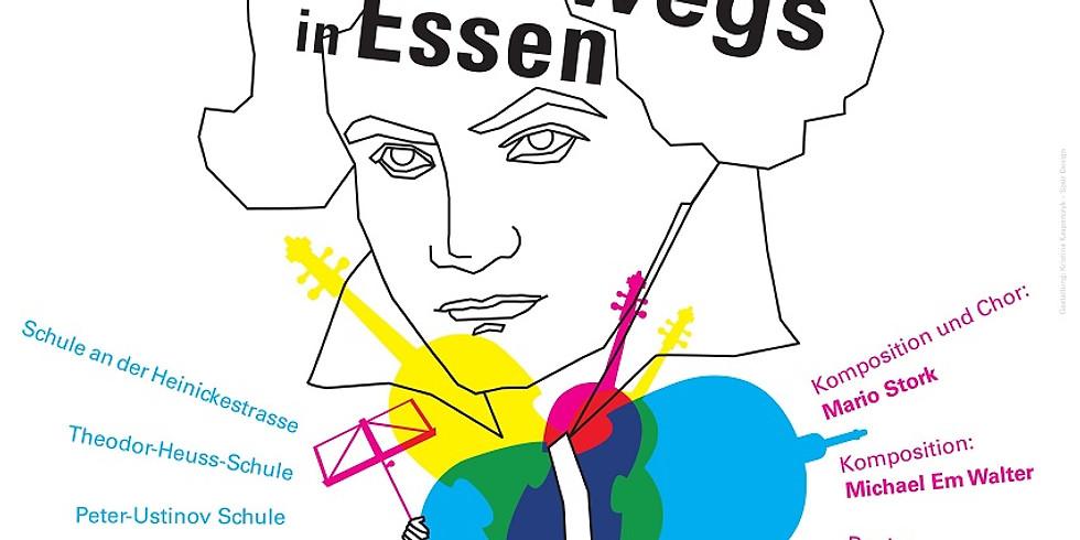 Ensemble Ruhr & KIDZ – Mit Beethoven unterwegs in Essen – Beethoven partizipativ 17. Juni 2021 18.00 Uhr
