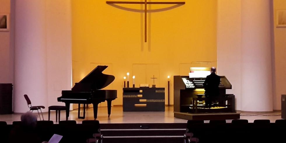Folkwang zu Gast - Orgelstudio - Orgel und Klavier im Dialog I