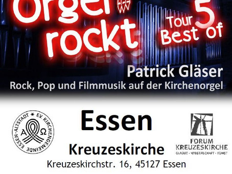 "27.01.2018 : Orgel rockt - Tour 5 ""Best of"""