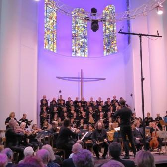 Johannespassion J.S. Bach, Essener Kantorei und  Essener Barockorchester, Kreuzeskirche Essen 07.04.2019; Foto Jürgen Kopetzki