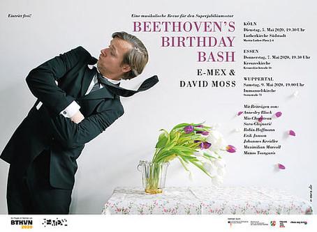 Abgesagt! 07.05.2020: Beethoven's Birthday Bash