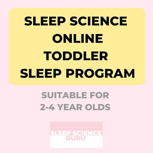 ONLINE LOCKDOWN TODDLER SLEEP PROGRAM