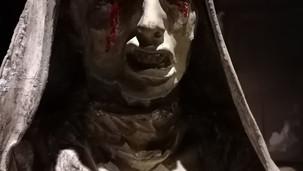 Statue qui pleure avec mécanisme