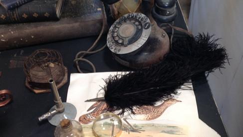 Exemples d'accessoires pour «Cabinet de Curiosités»