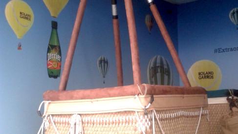 Nacelle de montgolfière