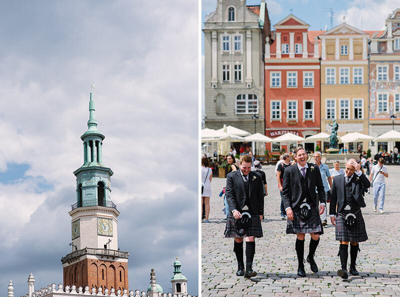 ślub Poznań Stary Rynek