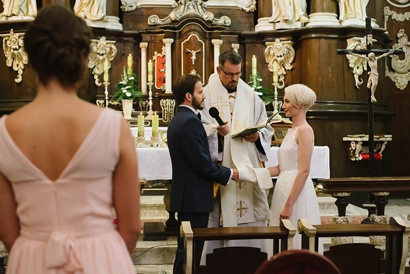 ślub w Klasztorze w Woźnikach