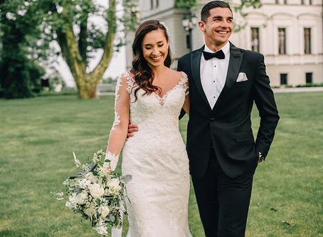 Sesja ślubna w Pałacu Tarce | Patrycja i Wojciech