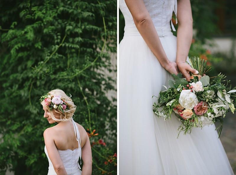 bukiet ślubny od Kwiaty i Miut