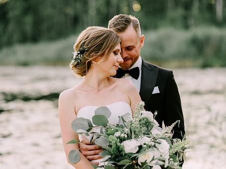 Plenerowy ślub i klasyczne wesele w Weranda Home | Marta i Paweł